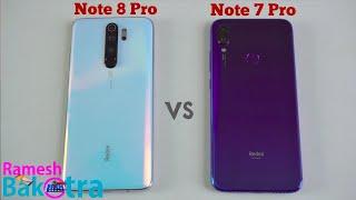 Redmi Note 8 Pro vs Redmi Note 7 Pro Speed Test and Camera Comparison