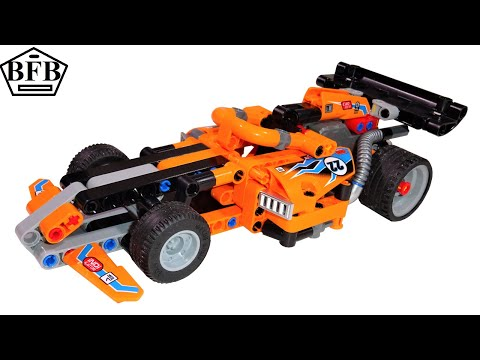 Lego Technic 42104 | Renn Truck | 2in1 | Lego Speed Build Review | Modell B