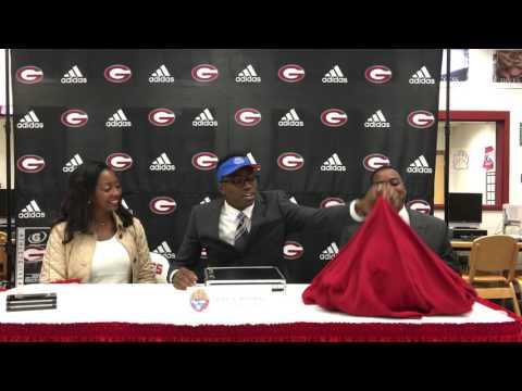 Grant Holloway makes his college announcement