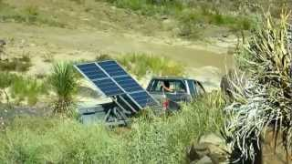 SunStation / Drive to Pink's Peak in Terlingua, TX / Off Grid Solar Power System