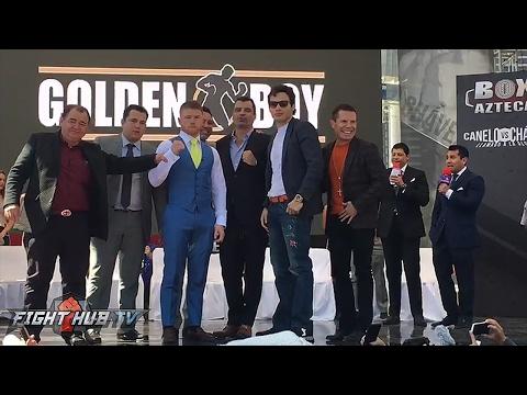 Canelo Alvarez vs. Julio Cesar Chavez Jr Kick Off Press Conference video - Mexico City