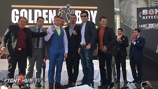 Canelo Alvarez vs. Julio Cesar Chavez Jr Kick Off Press Conference video - Mexico City