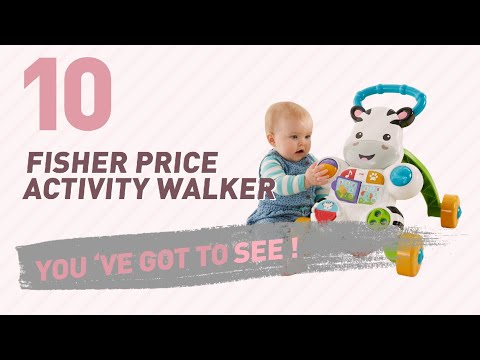Fisher Price Activity Walker // New & Popular 2017