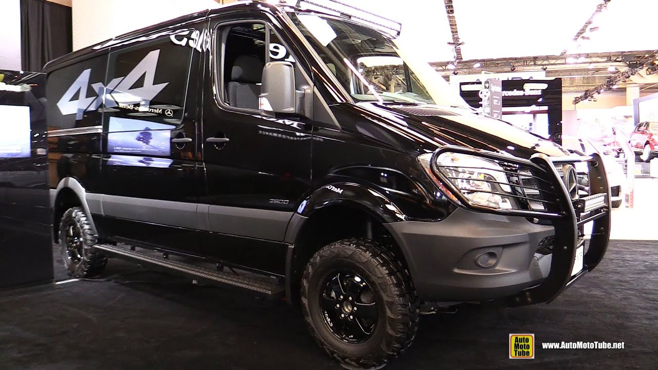 2016 mercedes sprinter 4x4 cargo van exterior and. Black Bedroom Furniture Sets. Home Design Ideas