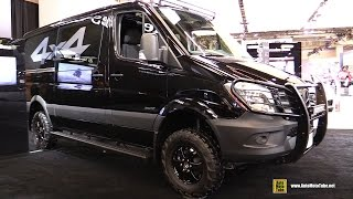 2016 Mercedes Sprinter 4x4 Cargo Van - Exterior and Interior Walkaround - 2016 Montreal Auto Show(Welcome to AutoMotoTube!!! On our channel we upload daily, our original, short, Car and Motorcycle walkaround videos. We are specialized in doing coverage ..., 2016-08-25T12:00:01.000Z)