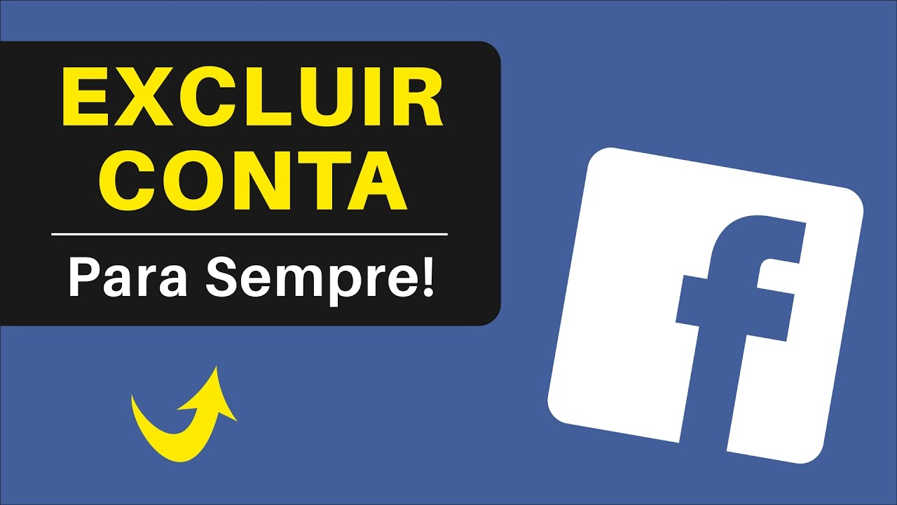 Como Excluir Conta Do Facebook Definitivamente Passo A Passo Pelo Pc Youtube