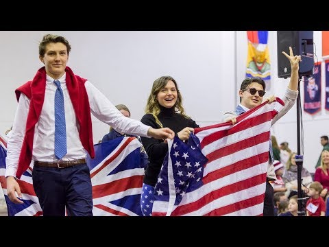 TASIS International Week 2018: Parade of Flags