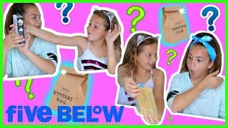 "FIVE BELOW MYSTERY BAG SHOPPING  CHALLENGE ""SISTER FOREVER """