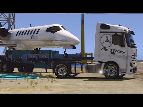 RP GTA V ! Livraison d'un Jet De Luxe ! Convoi Exceptionnel !