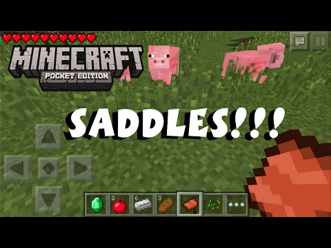 how to get a saddle in minecraft xbox