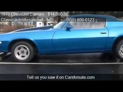 1971 Chevrolet Camaro - for sale in , NC 27603 #VNclassics