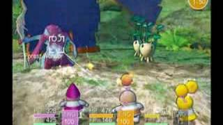 Opoona battle system (Nintendo Wii RPG)