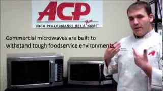 Amana Microwaves - Why Buy Commercial Microwaves