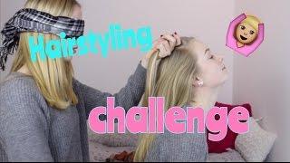 Hairstyling challenge I Finja and Svea