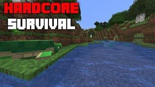 Minecraft: HARDCORE SURVIVAL - Ep 1 (Live!)