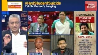 News Today At Nine: Hyderabad Dalit Student's Suicide Note