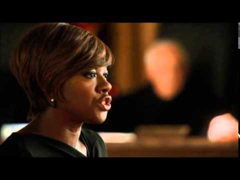 "Viola Davis KICKS ASS in scene from ""How To Get Away With Murder"""