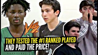 "They Chanted ""OVERRATED"" To The #1 Ranked Player... And Then REGRETTED IT! Jonathan Kuminga IS TUFF!"