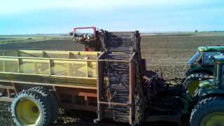Sugar Beet Harvest Nedens farms 2010. Hardin, mt