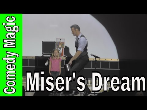 Miser's Dream Magic Trick Funniest Volunteer Ever With Christopher James