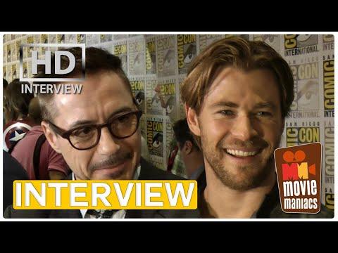 Avengers VS Guardians | Interview With The Avengers Cast Comic-Con 2014