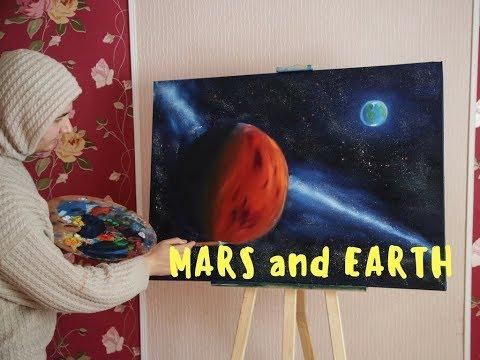Как рисовать марс