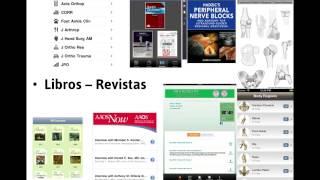Apps Móviles para Cirugía Ortopédica y Traumatología  - Dr  Gonzalo Mora  - AEA 2014