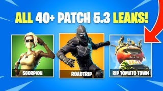 ALLE *NEU * FORTNITE LEAKS für Patch v5.30 (Fortnite Battle Royale)
