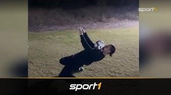 Zlatan Ibrahimovic und Paul Pogba fordern Stars zur Skills-Challenge auf   SPORT1