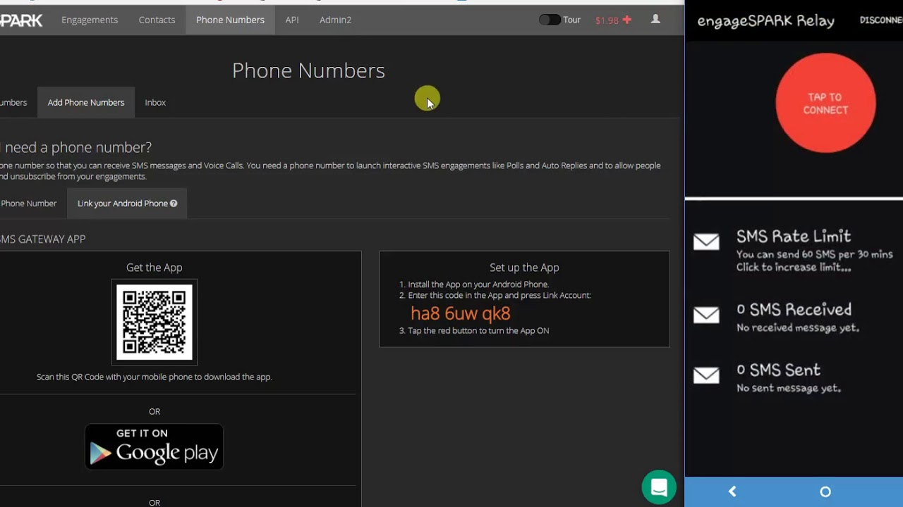 Support / What is the Android SMS Relay App? - Send and