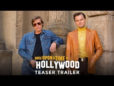 Quentin Tarantino nos sorprende con el tráiler de Once Upon a Time in Hollywood