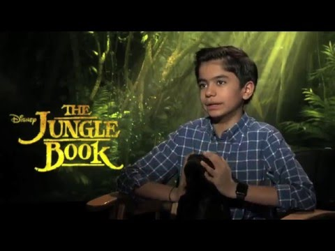Neel Sethi Jungle Book Interview