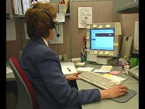 What do help desk technicians do?