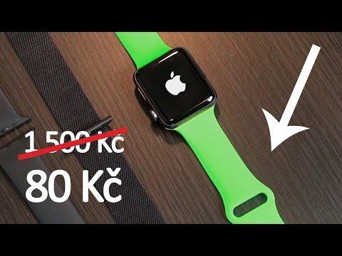 Apple Watch řemínek z Číny. Šmejd nebo dobrá koupě?