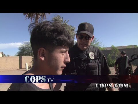 What's in the Fridge?, Officer James Stahl, COPS TV SHOW