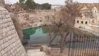 Documentary on 200-300 BC Mandir of Katas Raj 11 Feb 2012 near Kalar Kahar Salt Range Pakistan