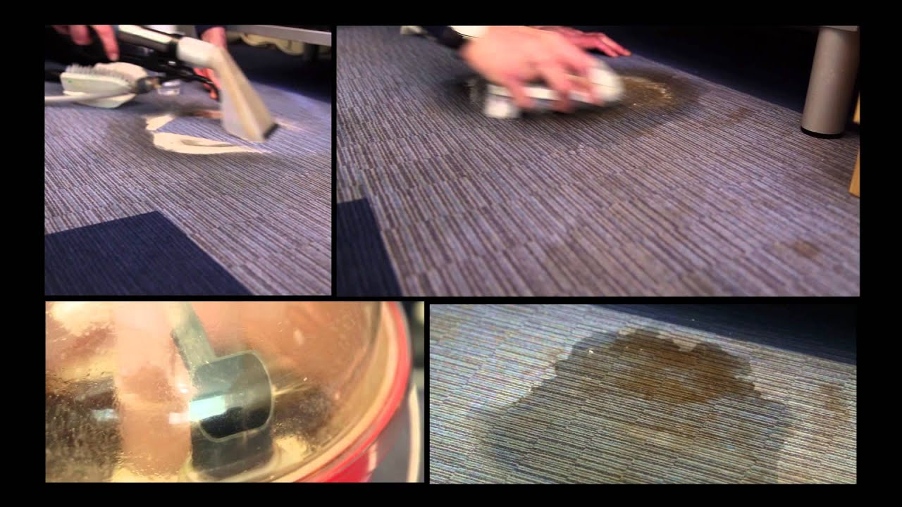 Flotex spot and machine cleaning