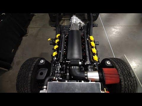 Jeep TJ LS / Vortec Engine Overview