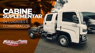 Cabine suplementar 04 lugares com Climatizador - Pickup&Cia