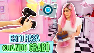 LA REALIDAD DE MIS VIDEOS | VIDEO SIN EDITAR | MIS PASTELITOS