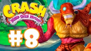 CRASH MIND OVER MUTANT #8 - TÁ SAINDO DA JAULA O MONSTRO!