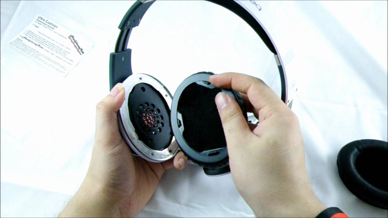 How To Apply Ultracushions Replacement Earpads For Beats Studio 1 Headphones