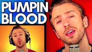NONONO - Pumpin Blood - Peter Hollens A cappella Cover