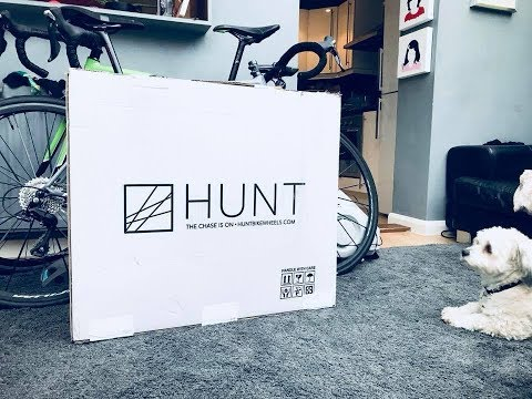 #121. HUNT 38 Wide Aero Carbon Wheels - Unboxing and fitting