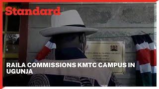 ODM leader Raila Odinga commissions Ugunja KMTC