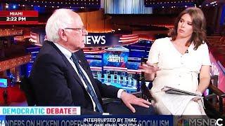 ANOTHER Corporate News Host Tries to Sandbag Bernie