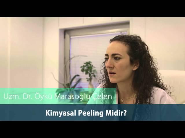 Dr.Öykü Maraşoğlu Çelen - Enzim Peeling Kimyasal Peeling Midir ?