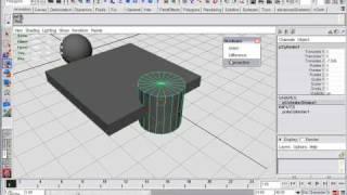 Booleans in Autodesk Maya Как моделить в Maya урок 2