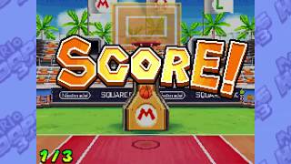 Mario Hoops 3 on 3: All Special Shots and Assists!