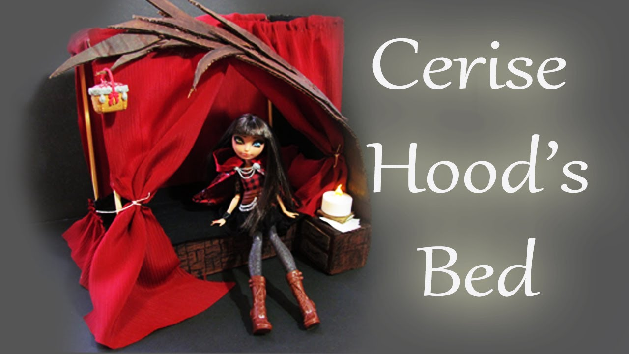 Ever After High Cerise Hood Doll How to make a Cerise H...
